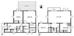 [一戸建] 神奈川県横浜市中区池袋 の賃貸【/】の間取り