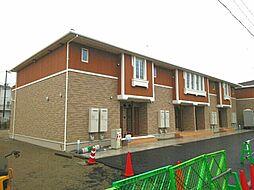 香川県東かがわ市松原の賃貸アパートの外観