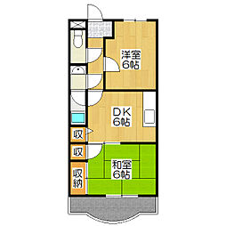 ポインセチア[2階]の間取り