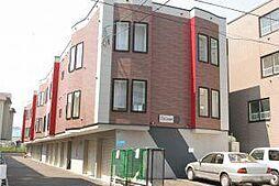 J'Sコート東札幌[201号室]の外観
