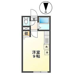 M15[1階]の間取り
