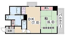 LM神戸元町第3[2階]の間取り