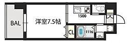 グランドゥーエ永和駅前[203号室]の間取り