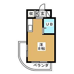 クインハウス[2階]の間取り