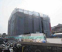 京都府京都市山科区川田御輿塚町の賃貸アパートの外観