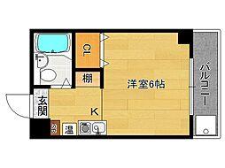 Sawrey House (ソーリーハウス)[203号室]の間取り
