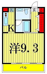 ノワールブラン[311号室]の間取り