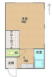 第一金光ビル[3階]の間取り