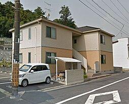 岡山県倉敷市鶴形2丁目の賃貸アパートの外観