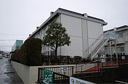 茨城県日立市本宮町4丁目の賃貸アパートの外観