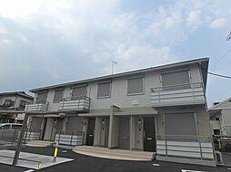 神奈川県伊勢原市下落合の賃貸アパートの外観