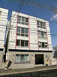 北海道札幌市西区二十四軒一条4丁目の賃貸マンションの外観