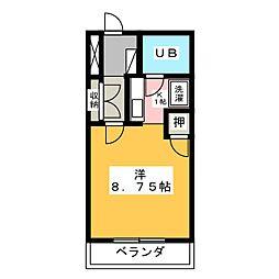 ハイツ久後崎[1階]の間取り