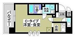 グランエクシード[9階]の間取り