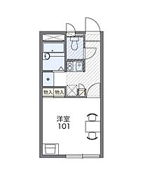 NAGAYAMA[2階]の間取り