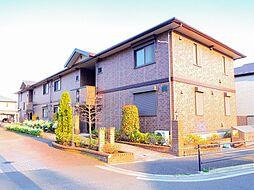 埼玉県新座市石神2丁目の賃貸アパートの外観