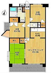 小松屋ビル[3階]の間取り