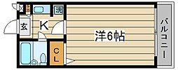 東京都豊島区千川1丁目の賃貸マンションの間取り