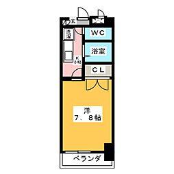 シャンポール大須[7階]の間取り