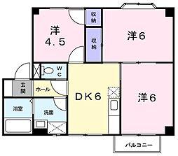 シャトル永井(3)[02010号室]の間取り