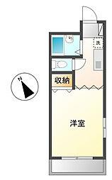 プロローグマンション[1階]の間取り