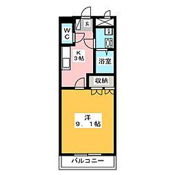 アクア レジェンド[2階]の間取り