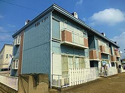 千葉県四街道市下志津新田の賃貸アパートの外観