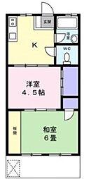 ハイデンス飯田[0103号室]の間取り
