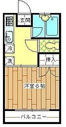 宮崎県宮崎市学園木花台桜1丁目の賃貸アパートの間取り