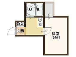 京王ビル[3階]の間取り