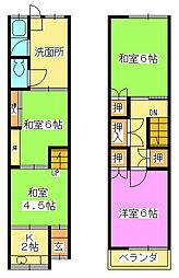 篠崎貸家(2階建)(C)
