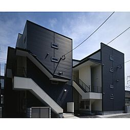 福岡県福岡市東区社領1丁目の賃貸アパートの外観