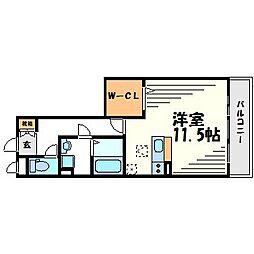 サザングレイス[3階]の間取り