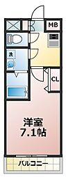 アーバンフラッツ新大阪I[11階]の間取り