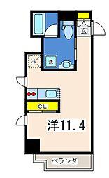 アインハウス[4階]の間取り