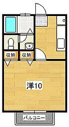 ベルエール[105号室]の間取り