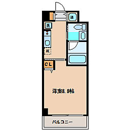 ヴァリエ原町田[4階]の間取り