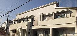 埼玉県飯能市稲荷町の賃貸アパートの外観