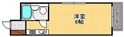 ヴィヴァーチェ塚口[203号室]の間取り