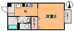 リヴェール1[1階]の間取り