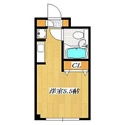 EstateTIME The 3rd[715号室]の間取り