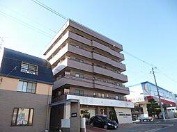 大阪府羽曳野市軽里3丁目の賃貸マンションの外観