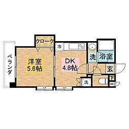 新大工町駅 5.1万円