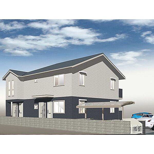 奈良県奈良市学園大和町の賃貸アパートの外観