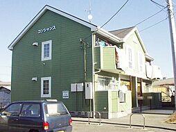茨城県土浦市中村南2の賃貸アパートの外観
