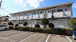 千葉県我孫子市湖北台10の賃貸アパートの外観