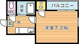 第5サンピア[1階]の間取り