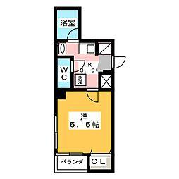 T's スクエアー[3階]の間取り
