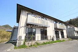 岡山県瀬戸内市長船町飯井の賃貸アパートの外観