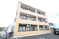 愛知県日進市竹の山3丁目の賃貸アパートの外観